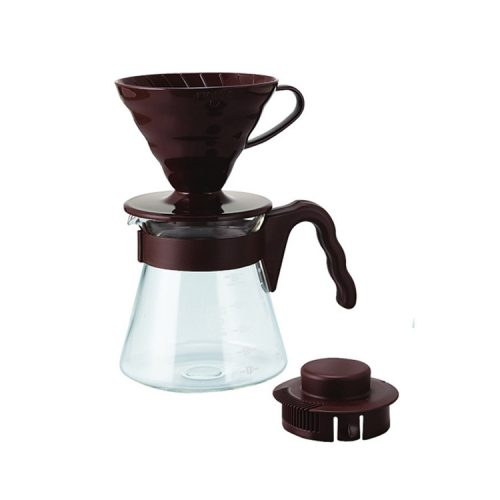 Hario V60 Coffee Server Brown VCSD-02-CBR
